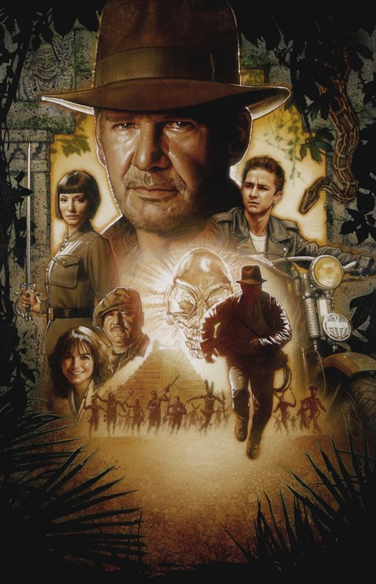 Drew Struzan, Indiana Jones and the Kingdom of the Crystal Skull