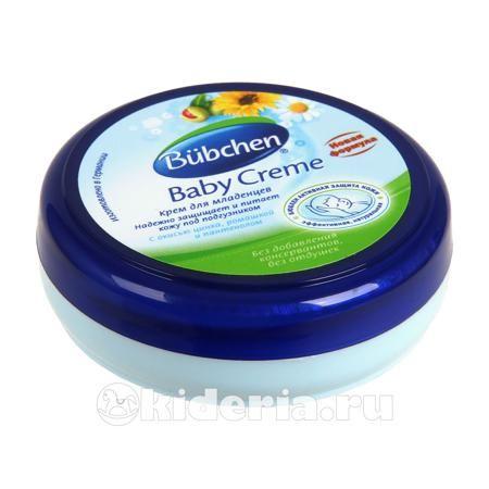Bubchen Крем для младенцев под подгузник  — 80р. --------------- Особенно эффективно защищает кожу в местах, закрытых пеленкой или подгузником. Идеален для профилактики опрелостей. Прекрасно снимает раздражение и воспаление, а также ухаживает за кожей в области ягодиц и паховой области. Идеален для длительных ночных пауз. Экономичен в использовании. Для детей с рождения.