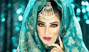 Image result for heavy arabic makeup 2017