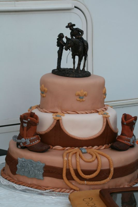 western style wedding cakes pictures | Western/Cowboy Style Cakes ...