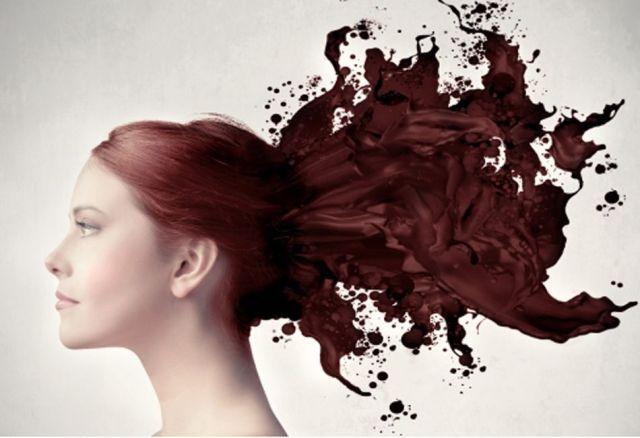 to e - periodiko mas: Η πρώτη βαφή μαλλιών!
