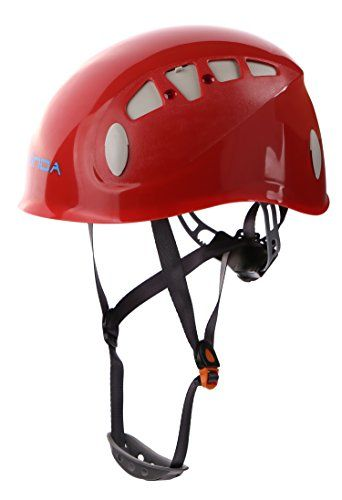 Zowaysoon Adjustable Rock Climbing Helmet Outdoor Helmet for Caving Riding Cycling Red *** Continue to the product at the image link. (This is an affiliate link) #ClimbingHelmets