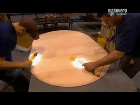 Как делают круглые Обеденные столы на заказ