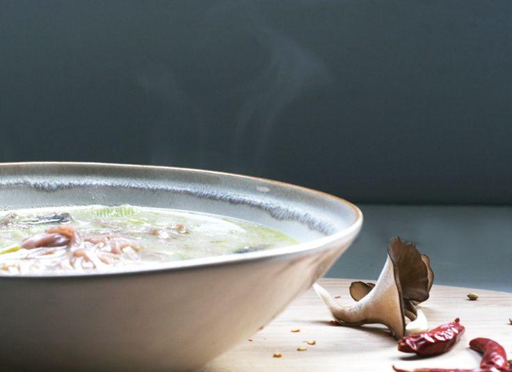 Soup Days, Day Two: Lemongrass Coconut Noodle Soup