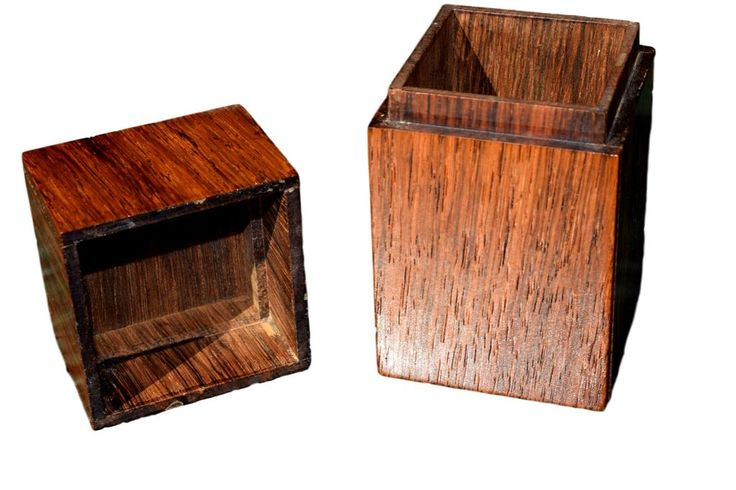 A unique rosewood box by Alfred Klitgaard with enamel by Bodil Eje