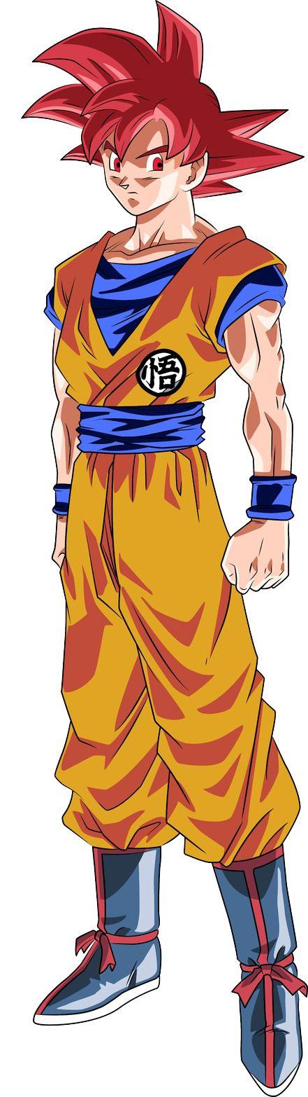 |★| Super Saiyan God Goku |亀|