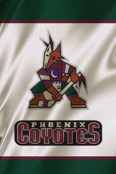 Phoenix Coyotes Print By Joe Hamilton