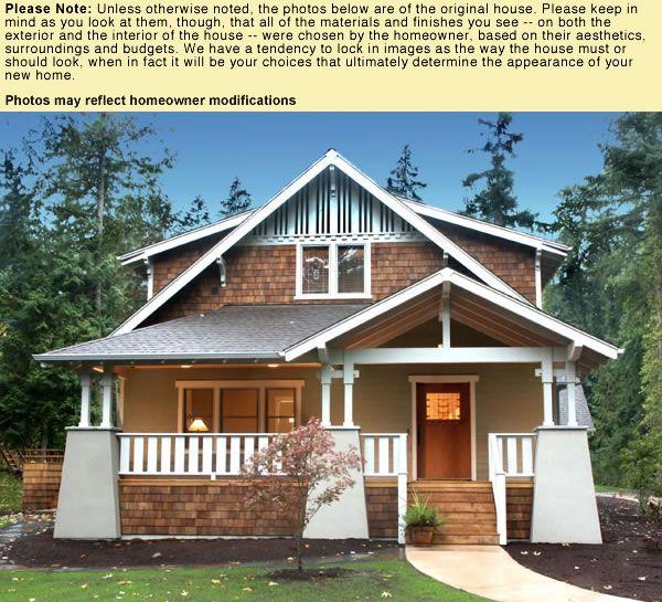 Classic bungalow via architectural house plans plan cg for Classic bungalow house plans
