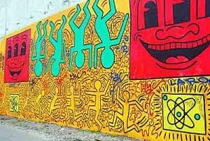 keith haring street art <3
