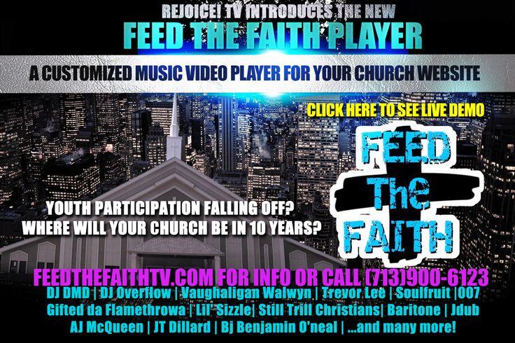 Tell your church to FEED the FAITH!
