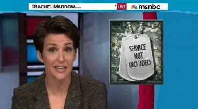 Maddow: Pentagon made up story of Jessica Lynch's heroism - Except PunditFact gets it wrong