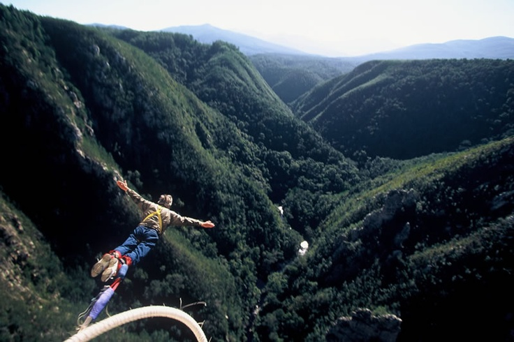 The Worlds Highest Bungee Jumping location.. Bloukrans Bridge • Garden Route - South Africa