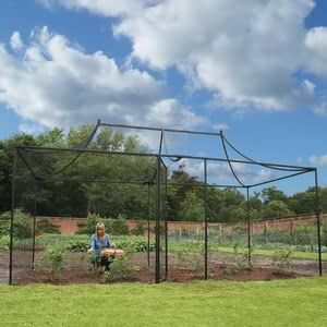 The elegant Pavilion Fruit Cage with sweeping curves reminiscent of our Decorative Peak Roof Walk-In Steel Fruit Cage, is likely to be just as popular with the gardener as it is unpopular with the local birds