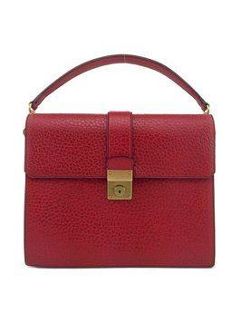 prada textured leather berlino shoulder bag