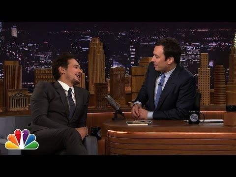 ▶ During the Break: James Franco and Jimmy Fallon Talk Cowbell - YouTube