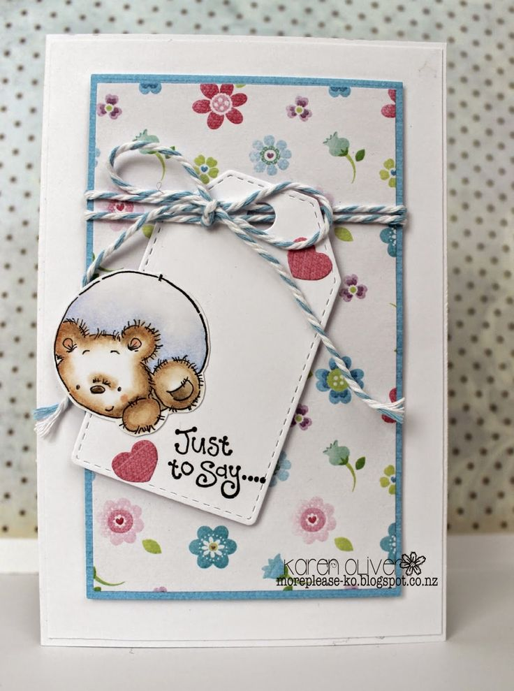 Paper Pads For Card Making Part - 45: LOTV - Present Trio And Small General Greetings With Bonnets And Bowties Paper  Pads By Karen. Cute CardsBaby CardsCardmakingCard ...