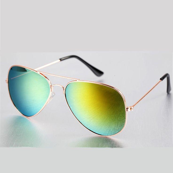 Fashion Vintage Sunglasses Men Women Brand Designer Mirrored Retro Feminine Sun Glasses Male Female Sunglass