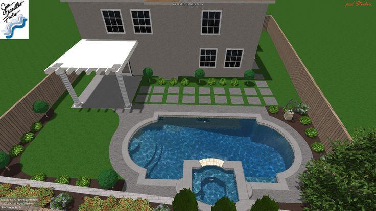 21 Best Dream 3 D Pool Designs Images On Pinterest Pool Designs Pools And Swiming Pool
