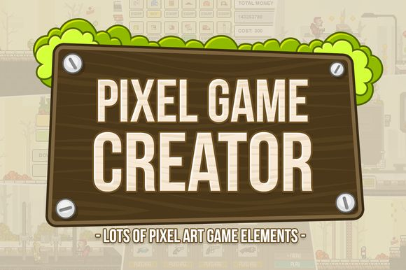 Check out Pixel Game Creator by AlienValley on Creative Market