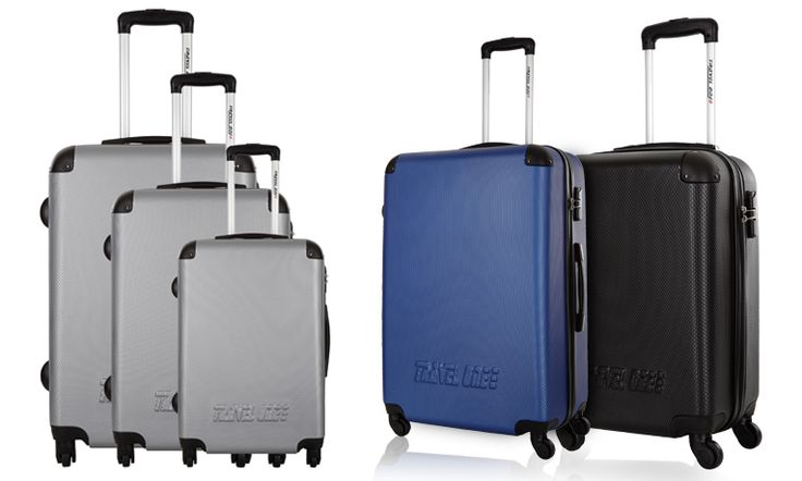 Σετ με 3 Βαλίτσες Travel One Calev, σε 3 Χρώματα, με 4 Ροδάκια 360° Μόνο 129€