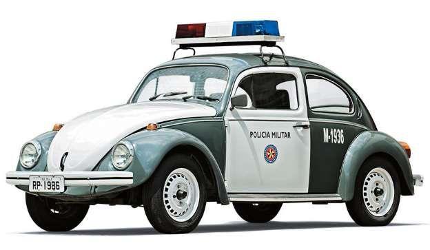 """A última """"baratinha"""" da frota: VW Fusca 1986                                                                                                                                                     Mais"""