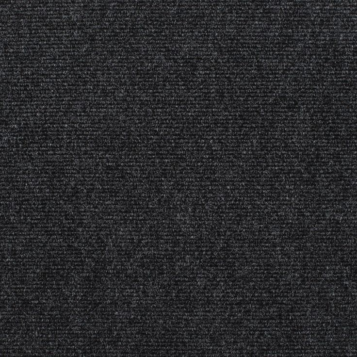 Birch Cord Anthracite Patterned Carpet Living Room