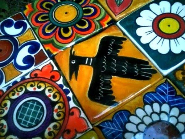 M s de 1000 ideas sobre azulejos mexicanos en pinterest baldosa azulejos portugueses y - Azulejos artesanales ...