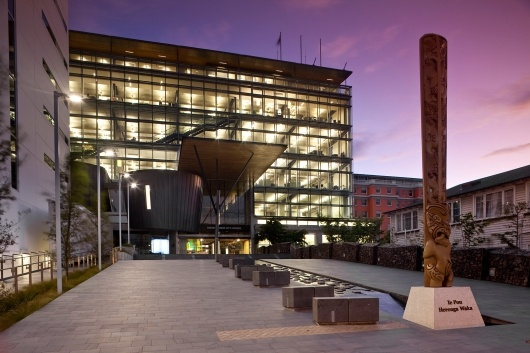 Te Hononga – Christchurch Civic Building | Athfield Architects Limited; Photo: Jamie Cobeldick | Bustler