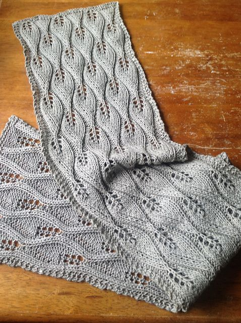 Ravelry: Candle Flame Scarf pattern by Doris Formby