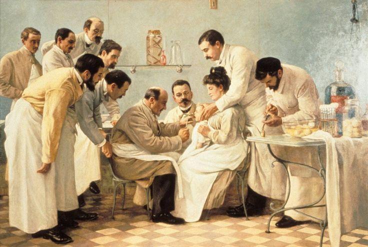 """Résultat de recherche d'images pour """"George-Alexandre Chicotot, Le tubage, 1904"""""""