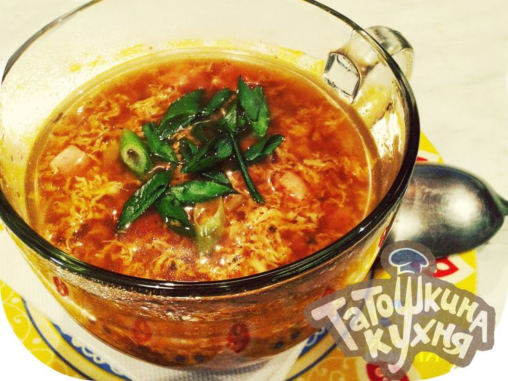 Ветчинно-чесночный суп «Кудрявый» по Дюкану