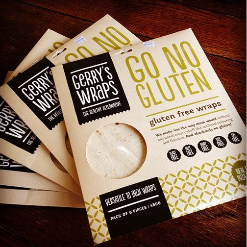 Pin To Win: Be in to win one of five free packs of Gerry's Go No Gluten Wraps - winners announced on Monday 29 Sept.