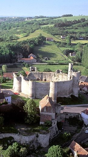 Forteresse et village de Billy - Allier - Auvergne