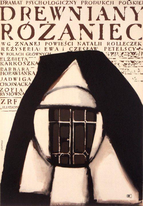 Drewniany rozaniec, Polish Movie Poster
