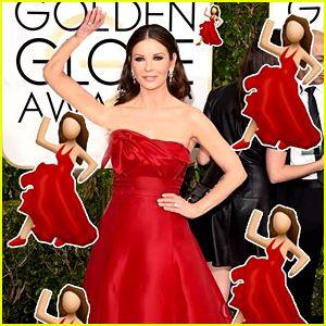 Red dress lady emoji 70