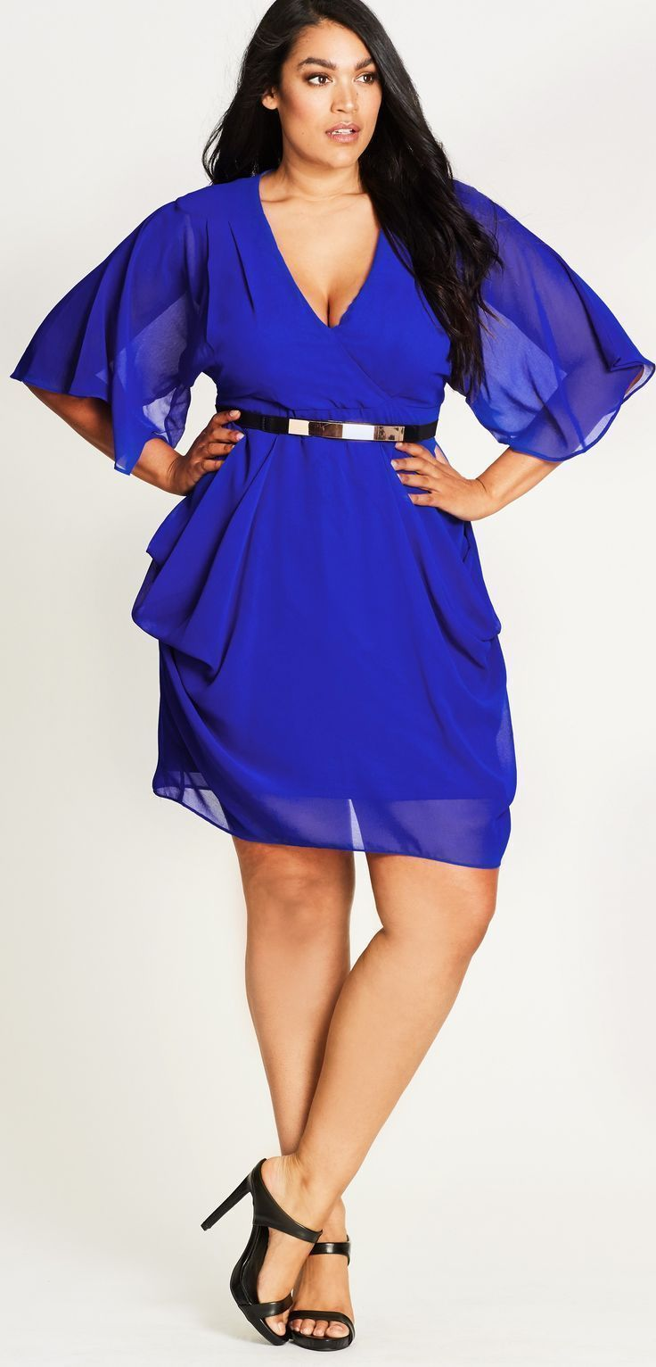 Vivica wrap dress - 27 Plus Size Party Dresses With Sleeves