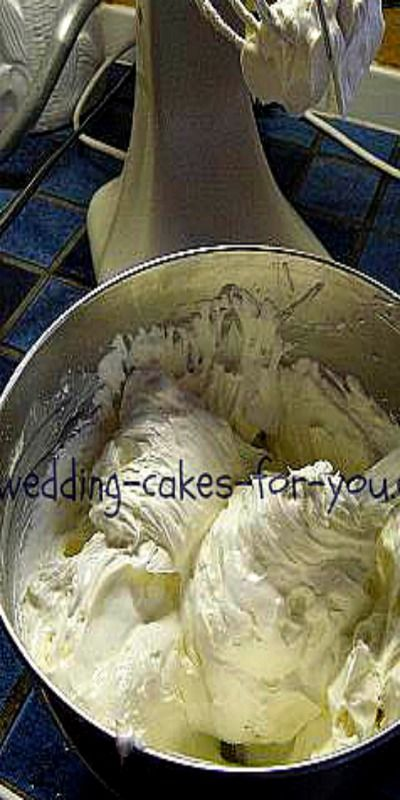 Wedding Cake Frosting - so good you'll use this for all kinds of cakes!