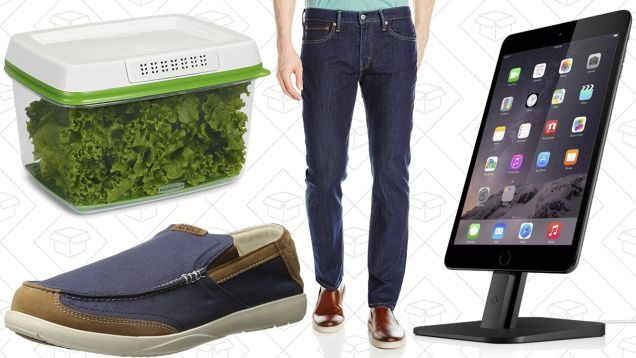 Todays Best Deals: Amazon Levis Sale Rubbermaid FreshWorks Anker SoundBuds and More