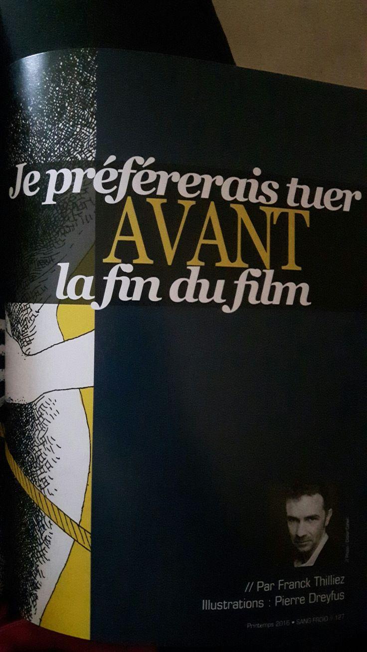 Nouvelle de Franck Thilliez parue dans la revue Sang Froid n°1