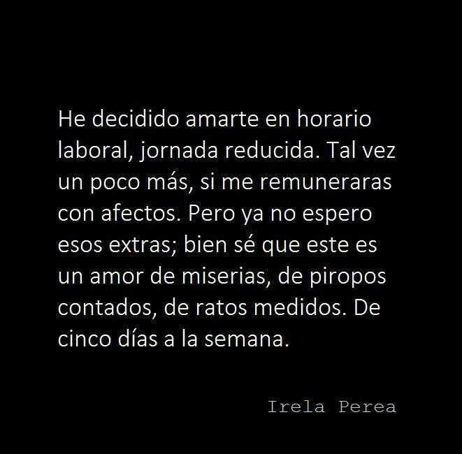 #irelaperea #poesía #poemas #amor #frases