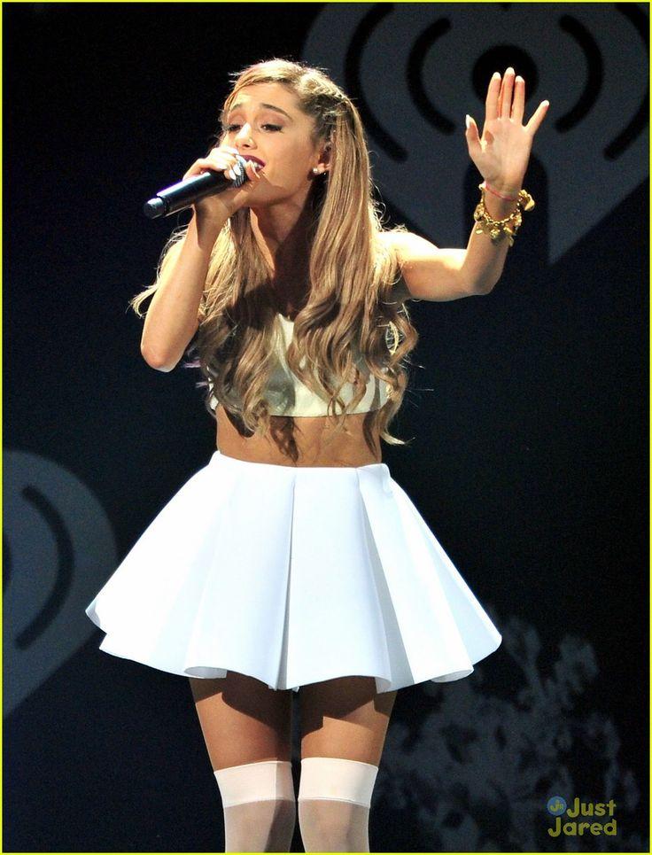 Ariana Grande & Jason Derulo: KISS FM's Jingle Ball Dallas 2013   ariana grande jason derulo kiss fm jingle ball dallas 2013 01 - Photo