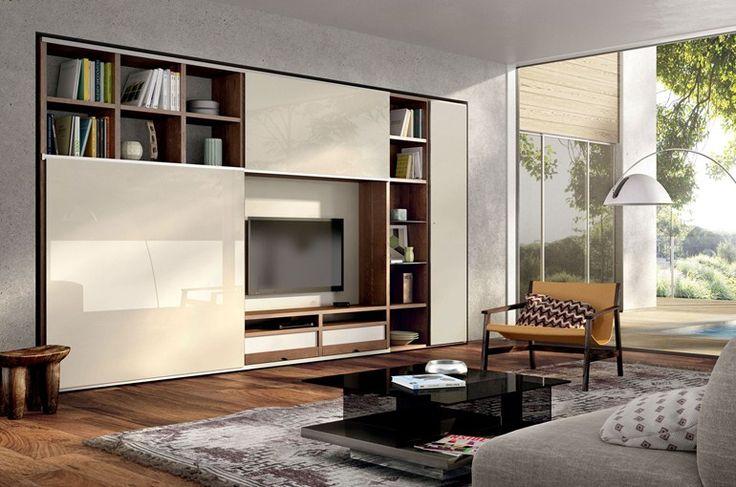Open TV wall system MEGA-DESIGN | TV wall system - Hülsta-Werke Hüls