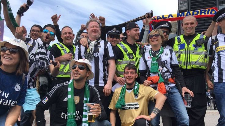 Champions League: 170,000 football fans head to Cardiff - BBC News