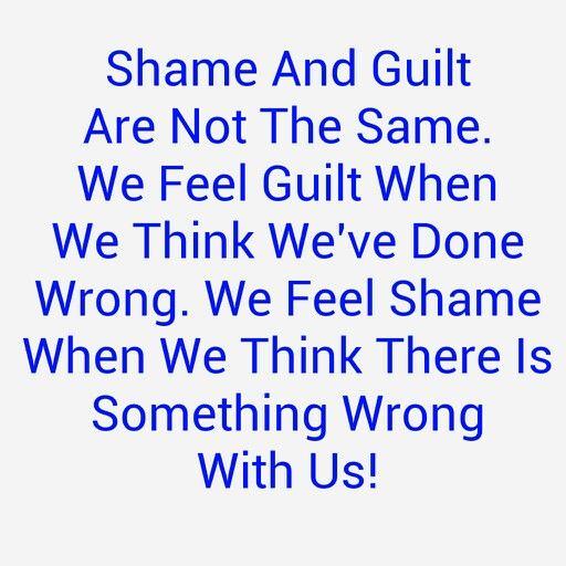 Guilt and shame