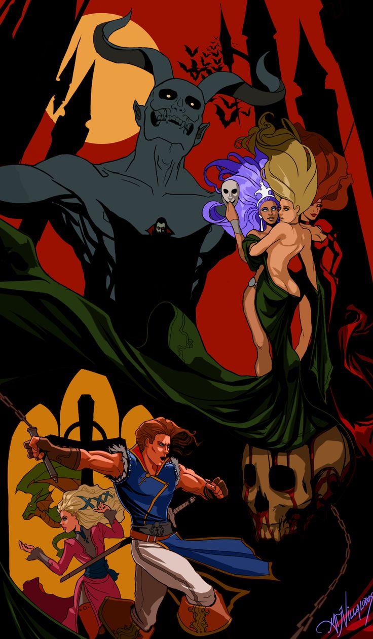 """""""CastleVania Rondo of Blood"""" by GreenStranger.deviantart.com on @DeviantArt"""