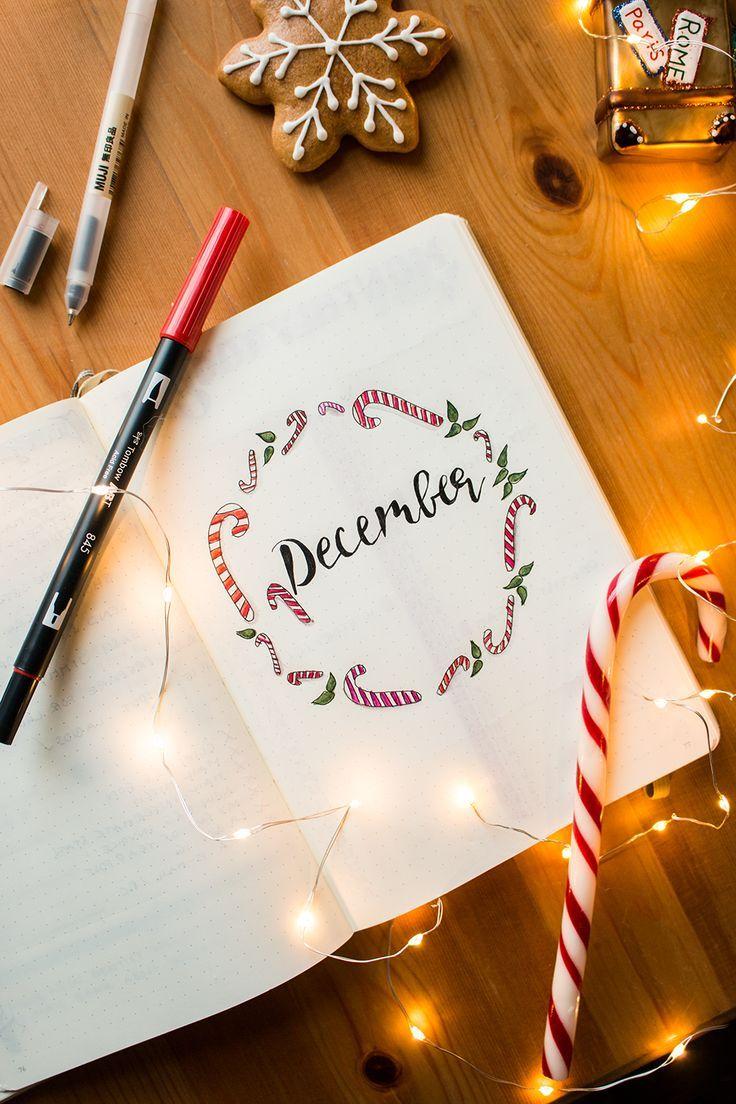 Bullet Journal Setup December – Planning vor Christmas 2017
