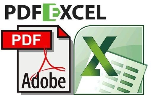 Convertir PDF a Excel en línea