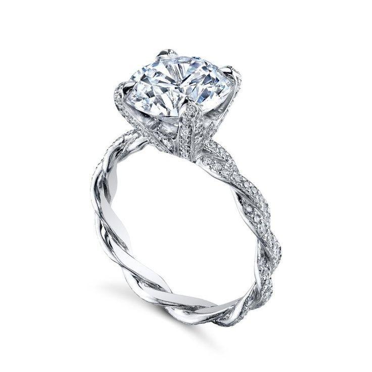 best 25 twist engagement rings ideas on