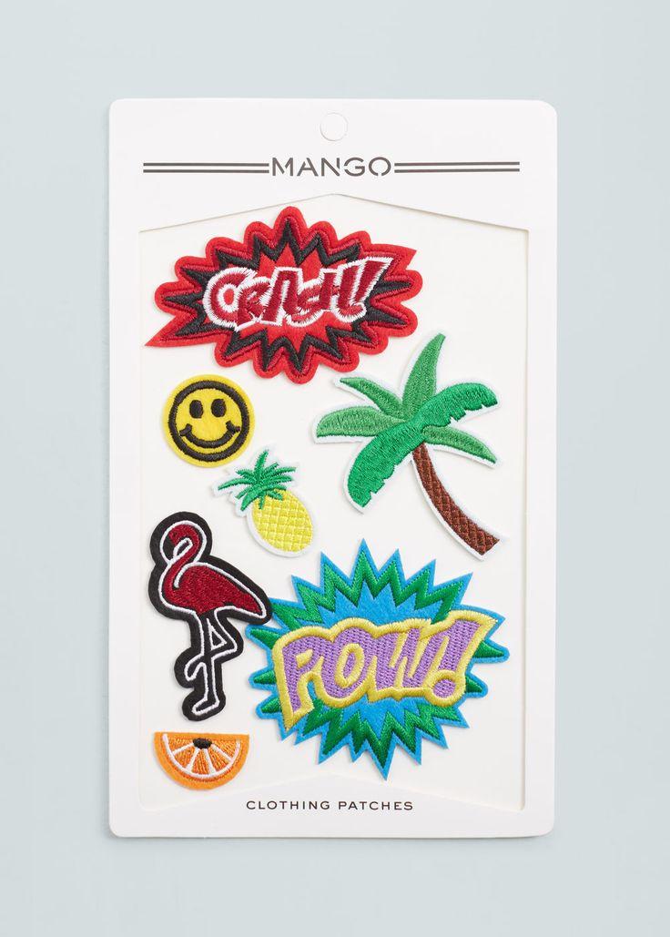 Clothing patches   MANGO