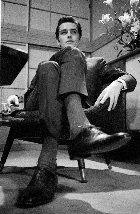 Alain Delon - In Tokyo, 1963.